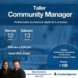 Curso de Marketing Digital Nicaragua Taller Community Manager