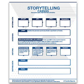 canvas storytelling plantilla
